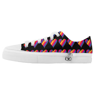 Rainbow Heart Sneakers