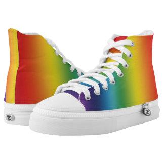 Rainbow High Top Sneakers