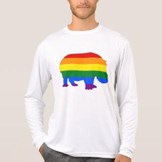 Rainbow Hippopotamus T-Shirt