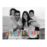 RAINBOW Holiday Photo Cards Postcard Post Cards