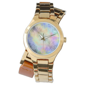 Rainbow Horizon Star Burst Ray Wrist Watches