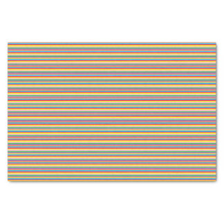Rainbow Horizontal Stripes Tissue Paper