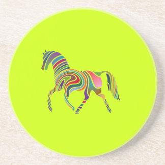 Rainbow Horse Coasters