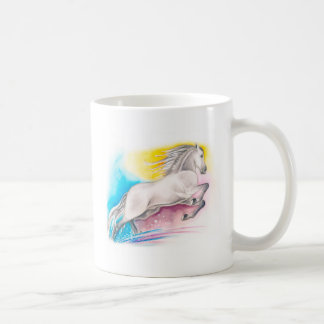 Rainbow Horse Coffee Mug