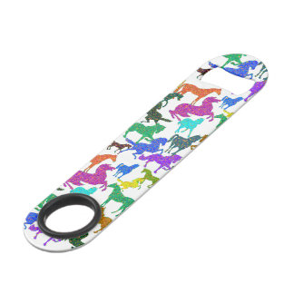 "Rainbow Horses - ""Dotty about Horses!"" Speed Bottle Opener"