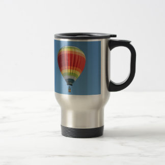 Rainbow Hot Air Balloon Travel Mug