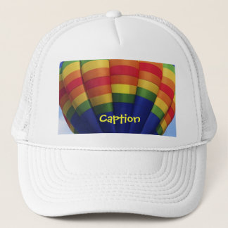Rainbow Hot Air Ballooning Trucker Hat