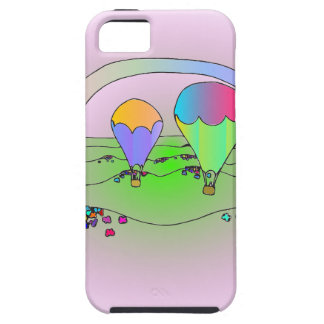 Rainbow Hot Air Balloons iPhone 5 Covers