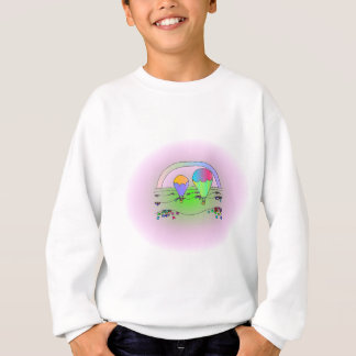 Rainbow Hot Air Balloons Sweatshirt
