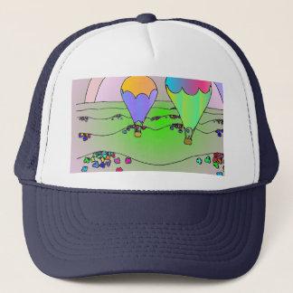 Rainbow Hot Air Balloons Trucker Hat