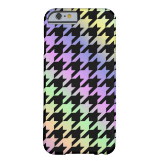 Rainbow Houndstooth Pattern Phone Case