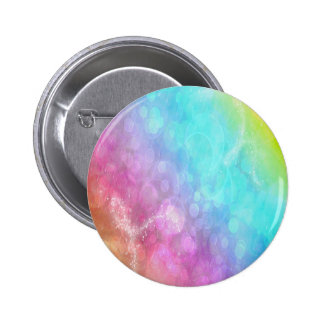 Rainbow Hue 2 Inch Round Button