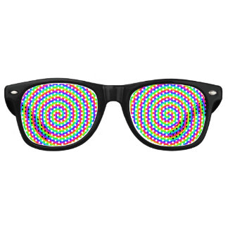 Rainbow Hypnotic Party Shades