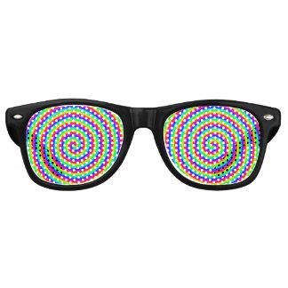 Rainbow Hypnotic Retro Sunglasses