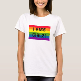 RAINBOW I Kiss Girlz! T-Shirt