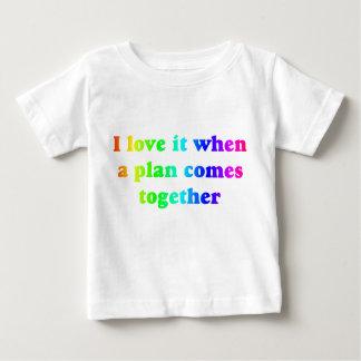 Rainbow I Love It Baby T-Shirt