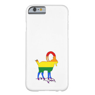 Rainbow Ibex Barely There iPhone 6 Case