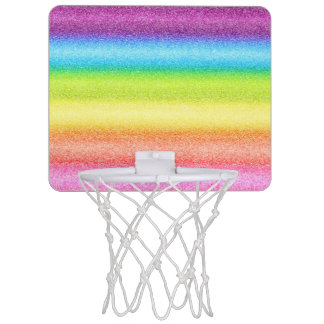 """Rainbow Ices"" Mini Basketball Backboard"