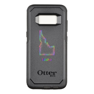 Rainbow Idaho map OtterBox Commuter Samsung Galaxy S8 Case