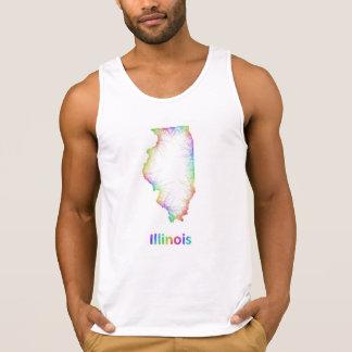 Rainbow Illinois map
