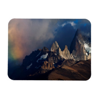 Rainbow In The Andes Rectangular Photo Magnet