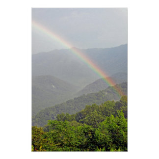 Rainbow in the Smokies Poster