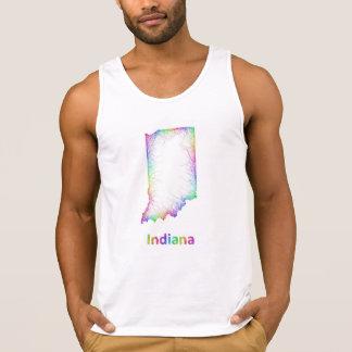Rainbow Indiana map