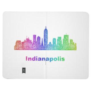 Rainbow Indianapolis skyline Journal