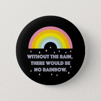 Rainbow Inspirational and Motivational Quote 2 Inch Round Button