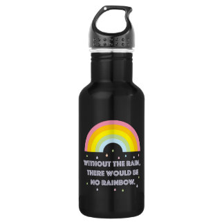Rainbow Inspirational and Motivational Quote 532 Ml Water Bottle