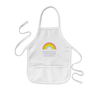 Rainbow Inspirational and Motivational Quote Kids Apron