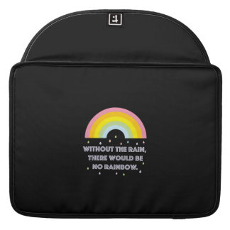 Rainbow Inspirational and Motivational Quote Sleeve For MacBook Pro