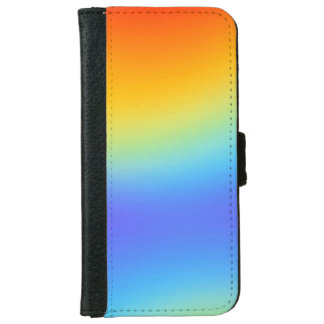 rainbow iPhone 6 wallet case