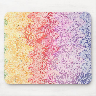 Rainbow Iterations Mouse Pad