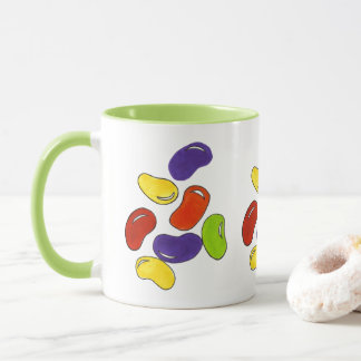 Rainbow Jelly Bean Beans Easter Candy Gift Mug