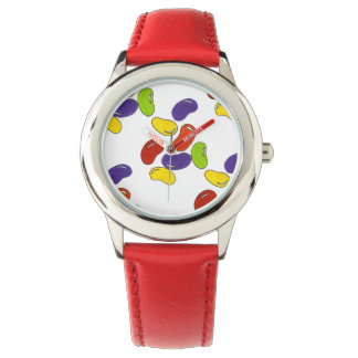 Rainbow Jelly Bean Beans Jellybean Candy Watch