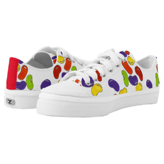 Rainbow Jelly Bean Easter Candy Pattern Sneakers