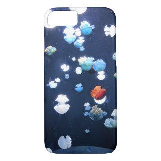 Rainbow Jelly Fish  Monogram Iphone 8/7 case