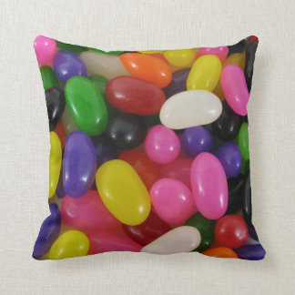 Rainbow jellybean candy JELLY BEANS cushion pillow