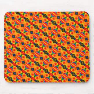 Rainbow Kaleidoscope Mouse Pad