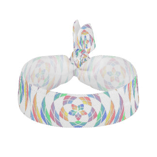 Rainbow Kaleidoscope Stars 2 hair tie
