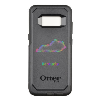 Rainbow Kentucky map OtterBox Commuter Samsung Galaxy S8 Case