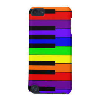 Rainbow Keyboard iPod Touch 5G Case
