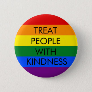Rainbow Kindness Standard Button