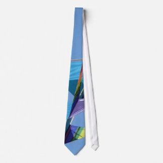 Rainbow Kitr abstract Tie