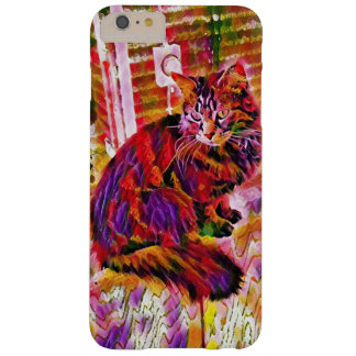 Rainbow Kitty Barely There iPhone 6 Plus Case