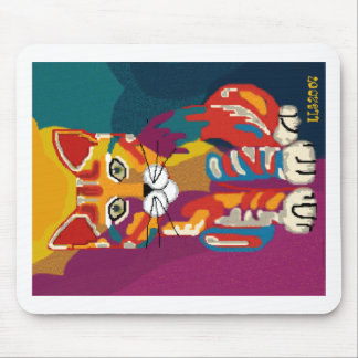 Rainbow Kitty Mouse pad