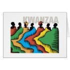 Rainbow Kwanzaa Holiday Greeting Cards