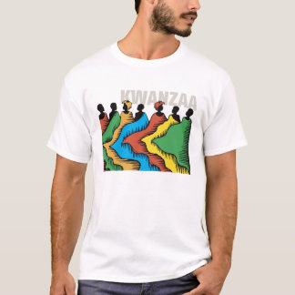 Rainbow Kwanzaa Holiday T-Shirt
