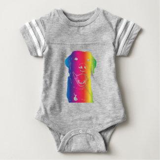 Rainbow Lab! Baby Bodysuit